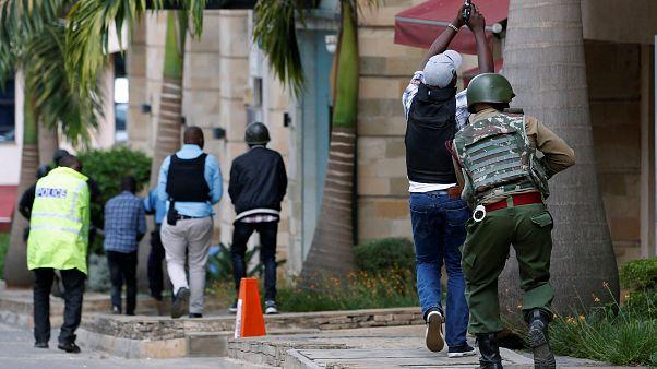 Kenya polisi Nairobi'deki saldırıya müdahale etti