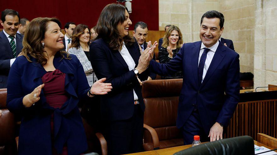 Andalúzia: az új kormány első parlamenti vitája