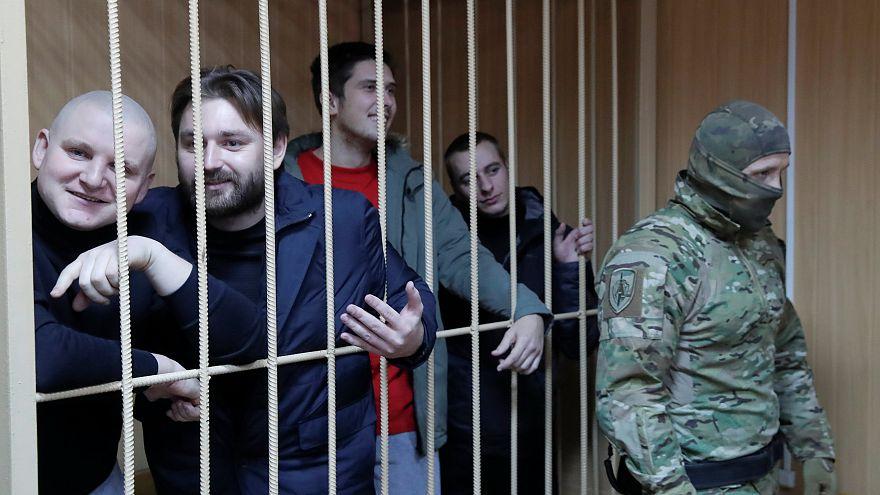 Moskau: U-Haft für 4 Ukrainer verlängert