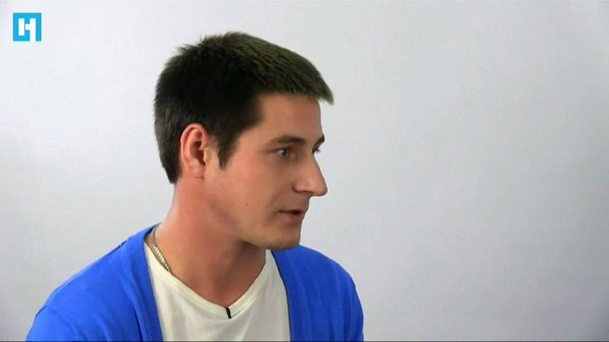 El ruso Maxim Lapunov, abiertamente gay, primero en denunciar torturas.