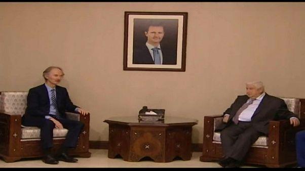 المبعوث الأممي الجديد إلى سوريا يزور دمشق ويلتقي وزير الخارجية