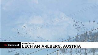 Lech Am Arlberg, alla ricerca dei dispersi della valanga