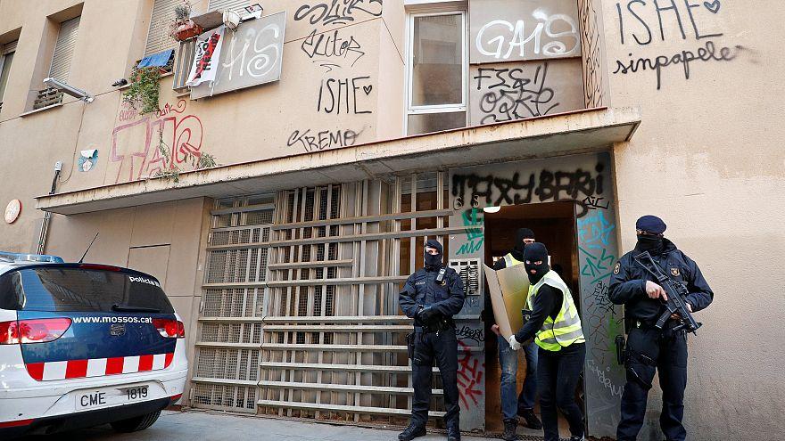 Антитеррористическая операция в Каталонии