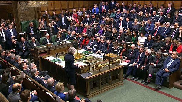 Incertidumbre en Londres tras el rechazo al plan de Theresa May sobre el Brexit