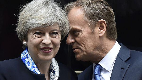 Tusk azt várja, mikor mondják már ki, hogy nem lesz brexit?