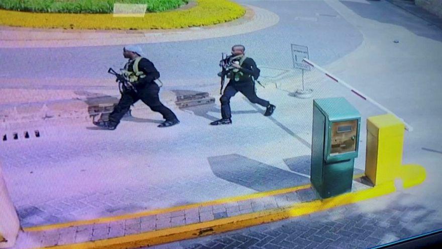 Felvétel a kenyai robbantásról