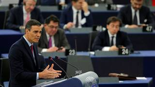 """Pedro Sánchez: """"Estamos trabajando para minimizar una posible salida sin acuerdo"""""""