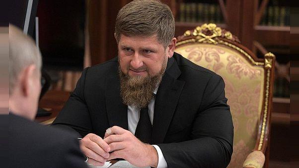 Der Präsident der russischen Teilrepublik Tschetschenien Ramsan Kadyrow