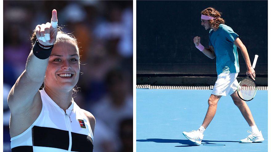 Στους «32» του Australian Open, Σάκκαρη και Τσιτσιπάς