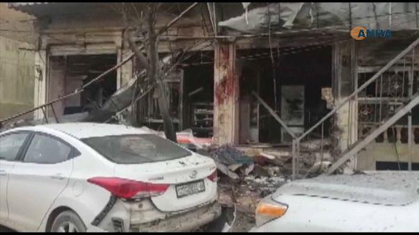سوريا: مقتل 16 شخصا بينهم 4 جنود أمريكيين في انفجار انتحاري نفذه داعش في منبج