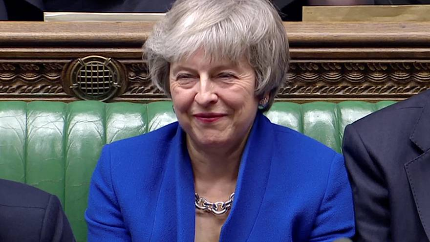 Theresa May sobrevive a la moción de censura