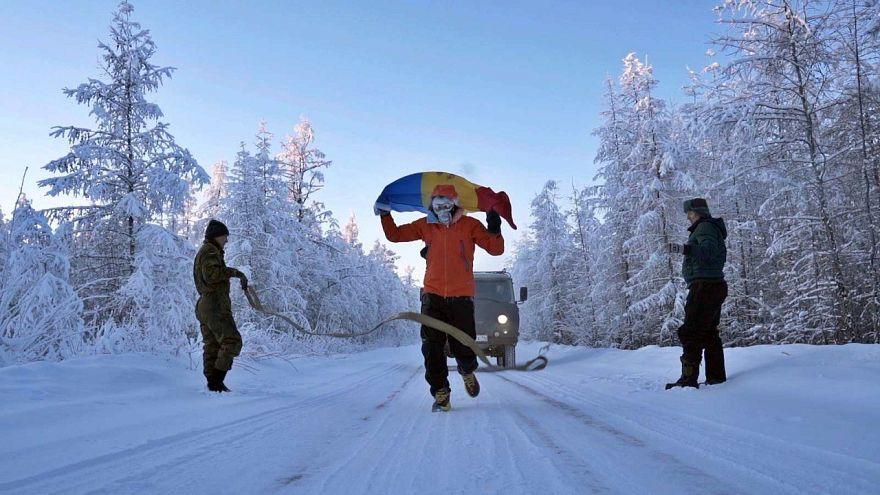 شاهد: أشجع رجل في العالم يركض 50 كيلومترا في أبرد مكان في العالم