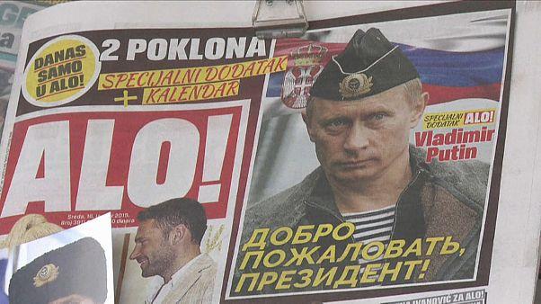 Путина ждут в Сербии