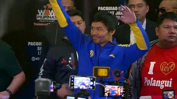 """Weltergewicht-Titelträger Manny """"Pacman"""" Pacquiao"""