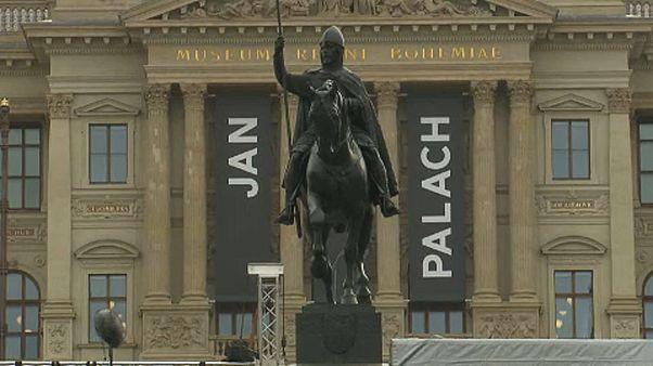 Jan Palach a szabadságért gyújtotta fel magát