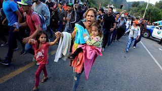 قافلة جديدة من هندوراس تعبر غواتيمالا من أجل الوصول إلى الحدود الأمريكية