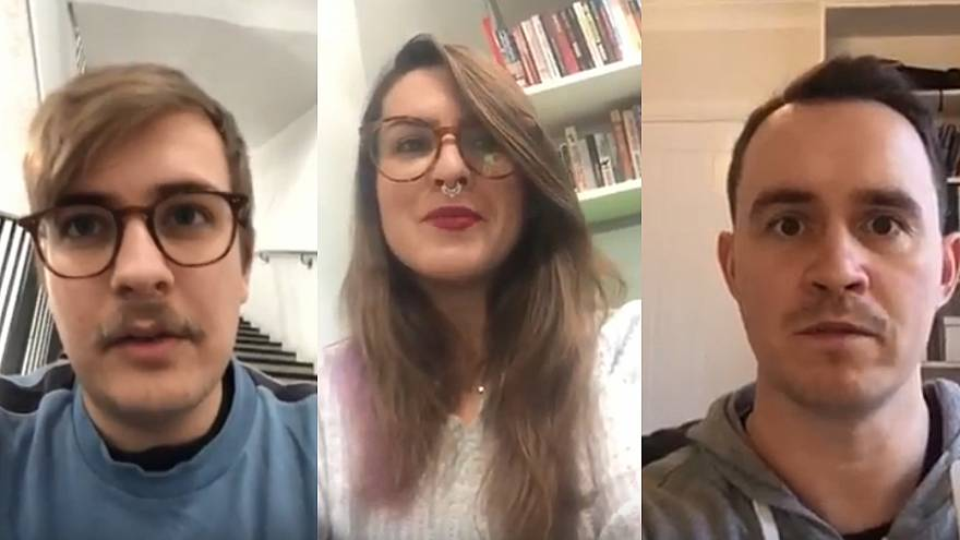 Three of the people The Cube interviewed about Brexit.