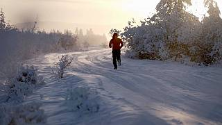 Meet the Moldovan athlete who ran 50km in freezing -60°C temperatures