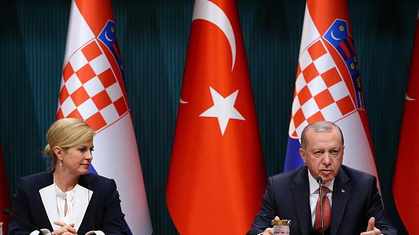 Cumhurbaşkanı Erdoğan: Menbiç saldırısı ABD'nin çekilme kararını etkileme anlamına gelebilir