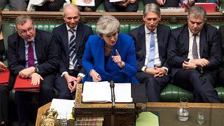 Theresa May supera la moción de censura del Parlamento británico