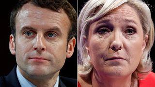 Macron pártja megelőzte Marine Le Pen-ét
