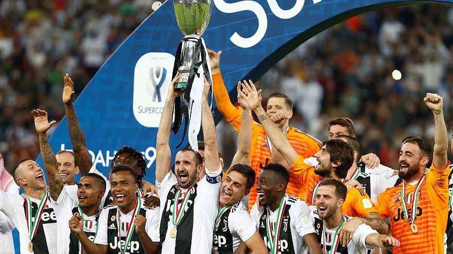 Cristiano Ronaldo dá a vitória na Supertaça à Juventus
