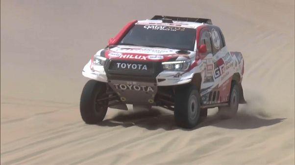 Máxima emoción ante la última etapa del rally Dakar en Perú