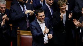 151 von 300 Stimmen: Tsipras gewinnt Vertrauen im Parlament