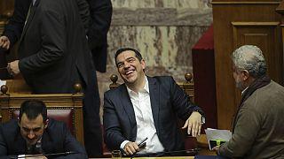 A macedón névvita után bizalmat kapott görög kormány