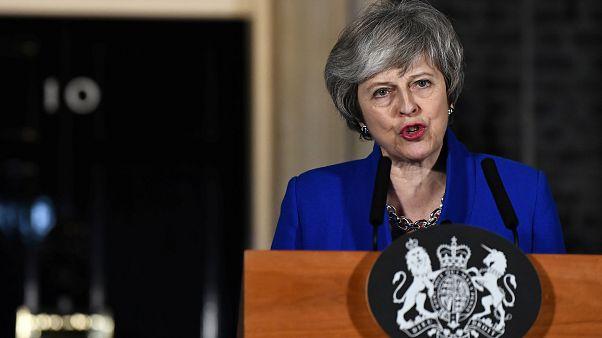 Theresa May explica en Belfast sus intenciones respecto a la frontera entre las dos Irlandas