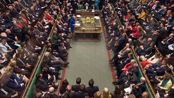 Theresa May au parlement le 16 janvier 2019
