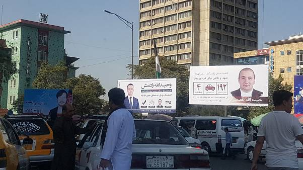 تبلیغات انتخابات مجلس در کابل