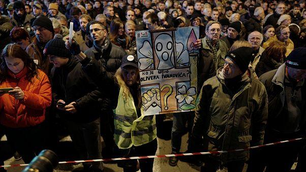 Belgrade : hommage à Oliver Ivanovic