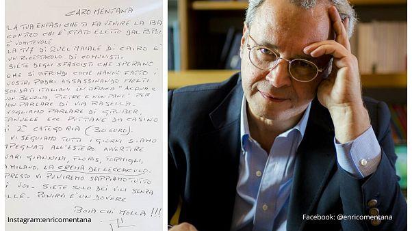 Απειλητικό μήνυμα σε δημοσιογράφο που επικρίνει την κυβέρνηση Σαλβίνι-Ντι Μάιο