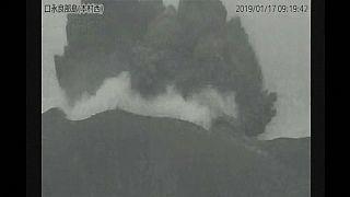 Япония: извержение вулкана на острове Кутиноэрабу