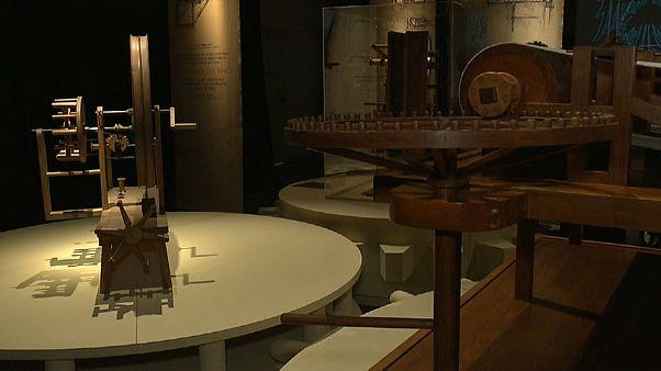 Leonardo genio del tessuto