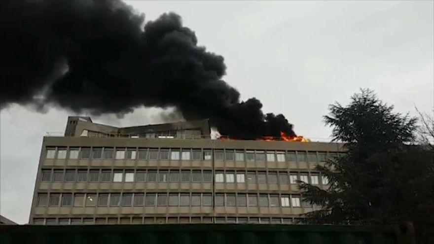 Explosions au gaz à l'université Lyon 1