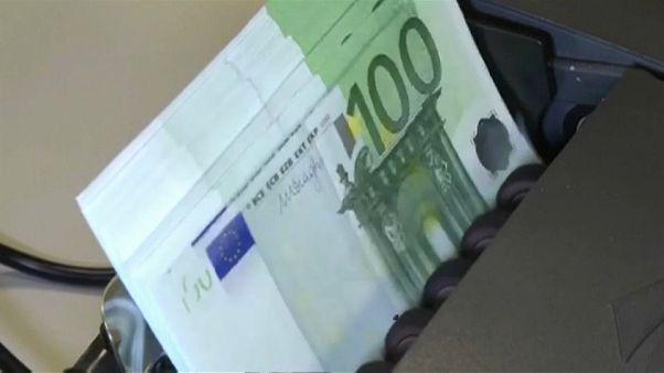 Инфляция в зоне евро замедлилась
