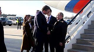 Putin auf Staatsbesuch in Serbien