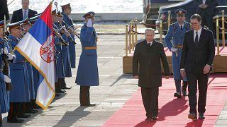 Владимир Путин прибыл в Сербию