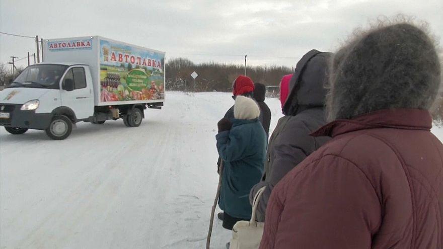 Mobile Tante-Emma-Läden in Tatarstan