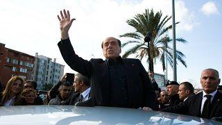 اعلام نامزدی سیلویو برلوسکونی برای انتخابات پارلمان اروپا