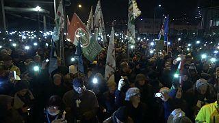 HRW: растет сопротивление авторитаризму
