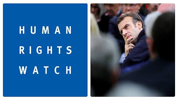 اظهار «ناامیدی» دیدهبان حقوق بشر از رویکرد ماکرون