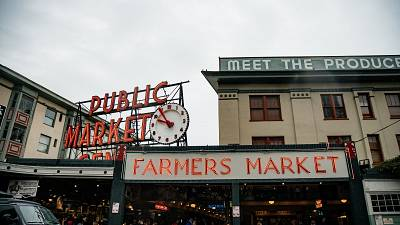 Visiting Pike Place Market, the 'heart' of Seattle