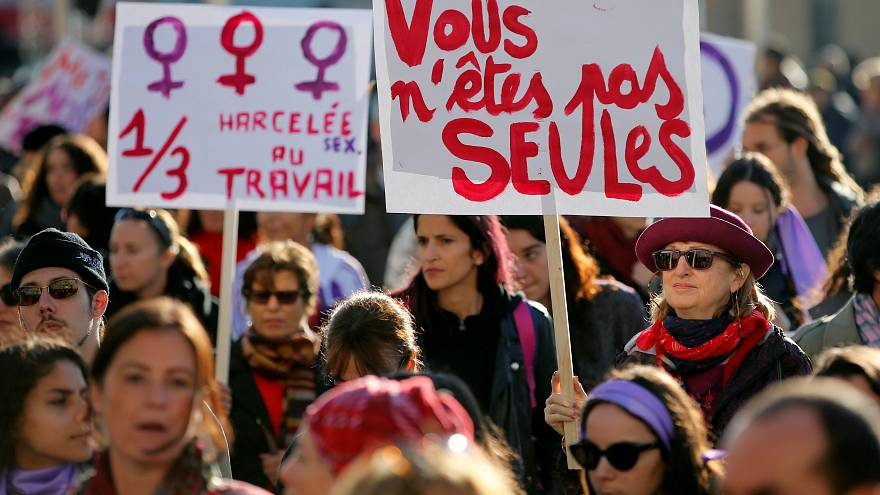 Sexism in France: 1.2 million women targeted in 2017 but only four convictions made