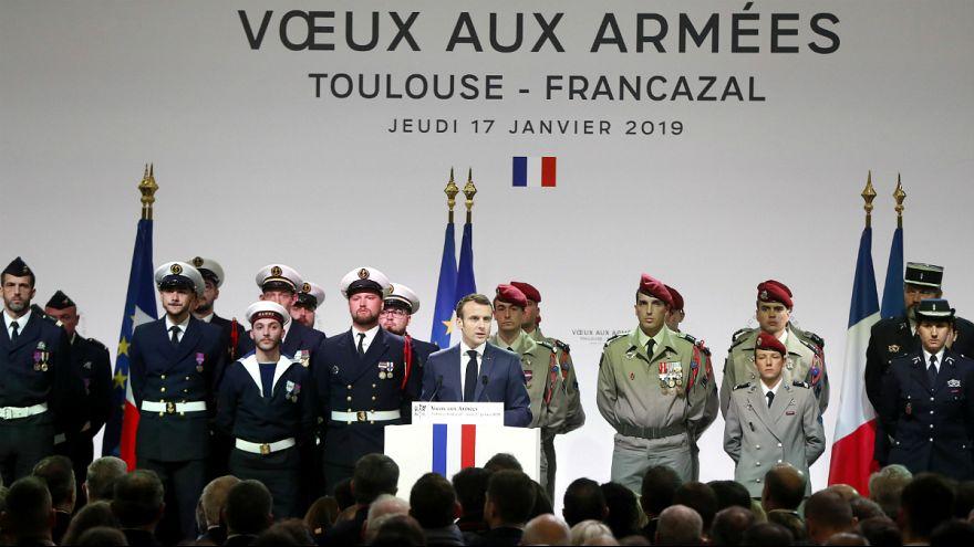 ماکرون: نیروهای نظامی فرانسه از سوریه خارج نخواهند شد