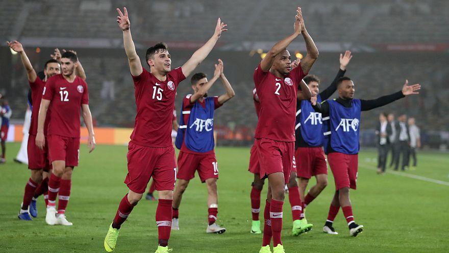 شاهد: قطر تهزم السعودية وتأهل متأخر لعُمان في كأس آسيا