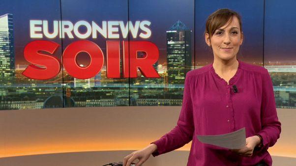 Euronews Soir : l'essentiel de l'actualité du jeudi 17 janvier