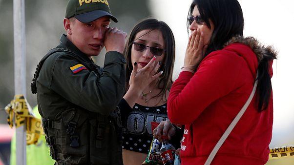 Kolombiya'nın başkenti Bogota'da bombalı saldırı